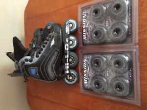 Mission Size 4 Rollerblades
