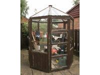 Wooden Octagonal Greenhouse - Spares or Repair - Cuddington, Cheshire