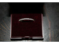 PRICE LOWERED Women's Diamond and 14kt Gold Band/Ring, Wedding Band