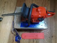 husqvarna 135 chainsaw, chainsaw with original chain no extras as in the invoice