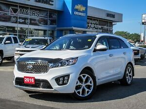 2016 Kia Sorento SX, SEATS 7, 3.3 V6, ADAPTIVE CRUISE, SUNROOF *