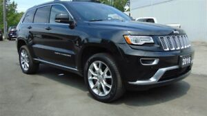 2016 Jeep Grand Cherokee SUMMIT 4X4 - EXECUTIVE DEMO - DVD SYSTE