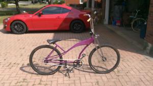 Custom cruiser bike