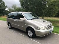 KIA SEDONA LX AUTO DIESEL 2004 6 SEATER 1 OWNER FROM NEW 78k F S HISTORY LONG MOT