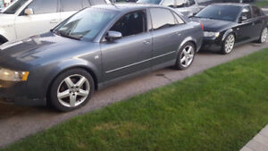 TWO AUDI A4'S; 1 manual, 1 auto 2004*