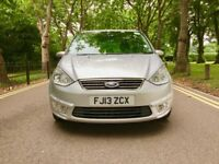 PCO 2013 Ford Galaxy 2.0 TDCi Zetec 5dr | 7 Seater |Hpi Clear | 2ND choice of Sharan | pco till 2018
