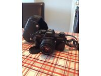Practica B200 SLR camera