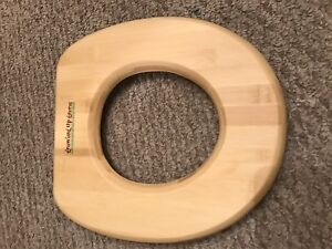 Growing up green -Child's Bamboo Toilet Seat