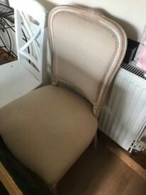White vintage chair in great condition