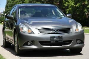 2012 Infiniti G37x AWD *LEATHER ROOF FOGS BACKUP CAMERA* CLEAN !