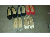 ladies size 4 pumps