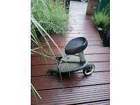 Bugaboo buggy board with seat