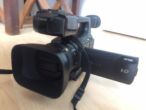 Canon XF100 Camcorder - 2 years old, PERFECT condition!