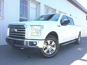2015 Ford F-150 XLT, 4X4  LEATHER, NAV, BLUETOOTH, BACKUP CAM.