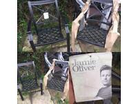 2 brand new Jamie Oliver garden chairs