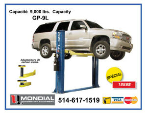 Asymetrique lift 9000lbs/ Lift de garage / Lift / Machine a pneu