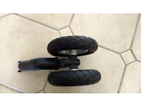 All terrain front wheels for Quinny Buzz stroller