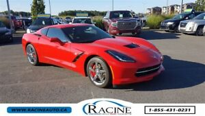 2014 Chevrolet Corvette Stingray 1LT CUIR TOIT TARGA