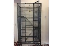 New parrot cage for sale