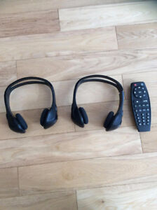 GM DVD Headsets and Remote