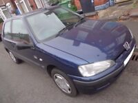 2001 peugeot 106 1.1 with only 70k miles mot till jan 2018 taxed DRIVEAWAY OR DELIVERY