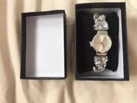 Decorative crystal watch Swarovski style
