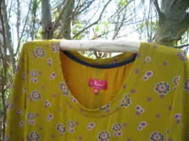 Dress size 14 by NESS designed in Scotland colour yellow never worn