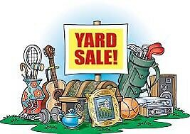 AWESOME YARD SALE!!!