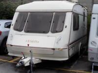 Elddis Hurricane GTX 2 Berth Caravan Light Weight End Bathroom Spacious