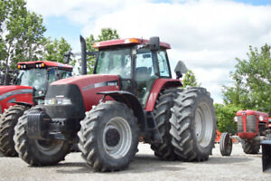 Case IH MXM 175 tractor with axle duals