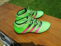 boys / mens adidas astro trainers size 8 very good condition