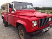 Land rover 110 ex military mod 1987 ex Cyprus