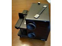 Royale - 35mm Fader / Disolve Dual Tray Slide Projector - Twin Lenses (including case)