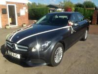 Wedding car hire *choice of 3 Mercedes saloons*