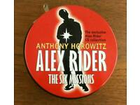Alex Rider - The Six Missions - CD Audiobook collection