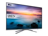 """BOXED SAMSUNG 49"""" UHD 4k Smart tv - has faint line in screen which can only sometimes be seen"""