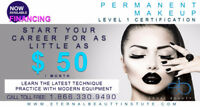 PERMANENT MAKEUP LEVEL 1 CERTIFICATION