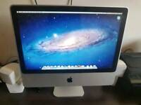 Apple imac core2duo 4gb ram 250gb hhd webcam excellent condition