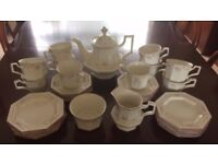 Johnson Brothers Madison china tea set - 10 place setting