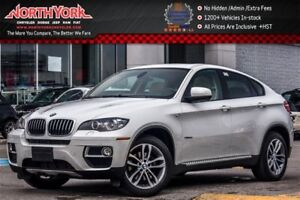 2014 BMW X6 xDrive35i|Sunroof|Nav|Backup Cam|Leather|HTD Seats