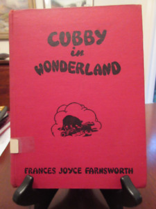 Frances Joyce Farnsworth CUBBY IN WONDERLAND  1958