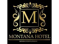 Montana Hotel Room Attendant Required IMMEDiATE START