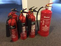 Fire extinguishers - Water & CO2 - quick sale!