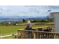 Holiday Caravan to Let at Pant y Gaseg, Moelfre, Isle of Anglesey