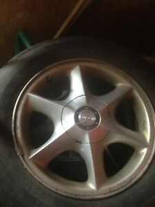 16 inch factory rims off a Oldsmobile