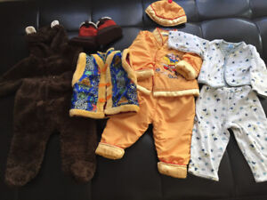 Baby boy spring/fall outfits 6-12months