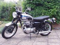 Kawasaki W650 Retro superb condition (Poss part ex for Brit bike/classic Jap)