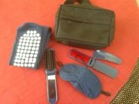 SMALL HANDY BAG WITH FLIGHT ACCESSORIES