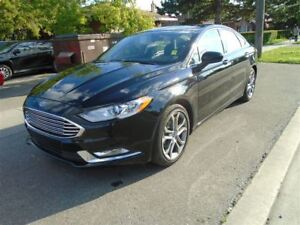 2017 Ford Fusion LEATHER, SUNROOF