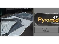 Pyramid Corsican Full Touring Caravan Awning Size 12 REDUCED